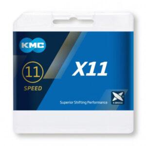 שרשרת KMC X11 SILVER\BLACK